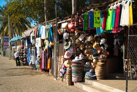 Mexican Beach Vendors